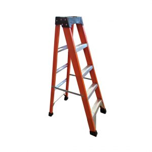 Tradecraft 5' Fiberglass  Step Ladder Grade 1A 300lb